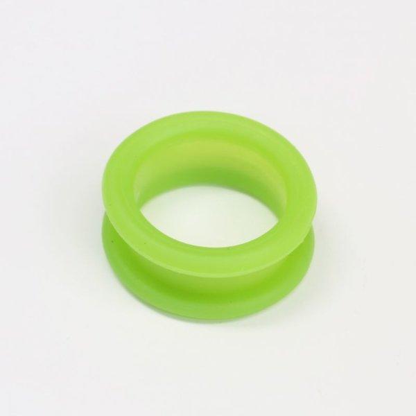 画像1: シリコンシザーリング(グリーン)4個入 (1)