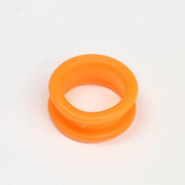 画像1: シリコンシザーリング(オレンジ)4個入 (1)